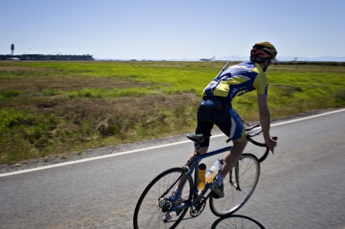The route along Ferguson Road to Iona Beach Regional Park on Sea Island is one of the best year-round cycling trips.