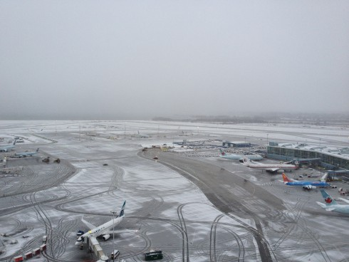 YVR used up to 80 pieces of snow-removal equipment on its runways, taxiways and aprons during last month's near-record one-day snowfall.