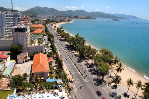 Nha Trang, Vietnam, is well known for its beaches and scuba diving and has developed into a popular destination for international tourists.