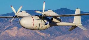 Boeing Phantom Eye—a high altitude, long endurance unmanned hydrogen-powered spy plane.