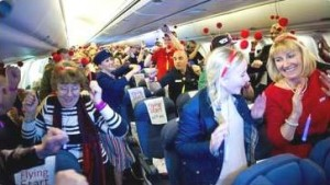 BA passengers dance their way into the Guinness World Records by performing the highest Harlem Shake dance.
