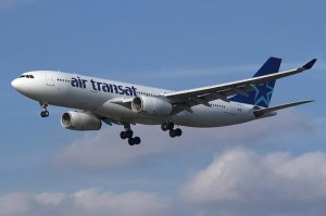 Air Transat currently uses a fleet of Airbus A310 and A330 wide-body aircraft.