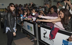 Indian actress and former model, Anushka Sharma, has appeared in Hindi films since 2008 and has won a Filmfare Award for Best Supporting Actress.