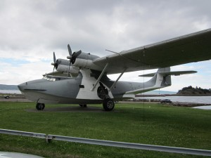 A preserved PBY Catalina Canso flying boat at Botwood, Newfoundland. Photo: Nigel Fitzpatrick