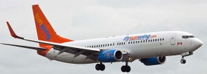 For the 2013 winter season, Sunwing has increased its fleet substantially by leasing additional aircraft on a short-term basis from Thomson Airways (United Kingdom), Travel Service Airlines (Czech Republic), Jetairfly (Belgium), and TUIfly (Germany).
