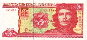 Cubans are paid most of their wages in Cuban pesos (CUP). One Cuban convertible peso is equal to 26.5 Cuban pesos.