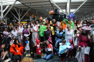 Each year, more members of the community participate in YVR's costume and pumpkin carving Halloween contests.
