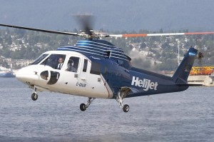 Helijet Sikorsky 76.