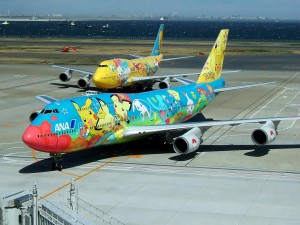 ANA planes have featured the likes of Pokemon, Woody Woodpecker and even a Panda on its liveries.