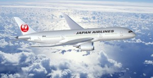 Japan Air Lines Boeing 787 Dreamliner.