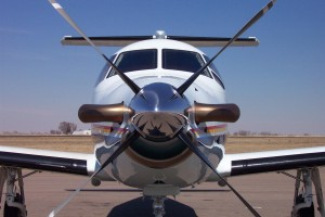 The Pilatus PC-12 is a single-engine turboprop.
