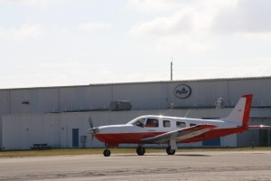 Shell Aviation's new unleaded formulation recently successfully completed an initial test flight with Piper Aircraft Inc.