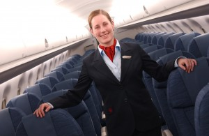 Air Canada inflight attendant—The airline has filed an application with Transport Canada to reduce the number of flight attendants required on its narrow-body aircraft, similar to an exemption its rival, WestJet Airlines Ltd., received in 2013.