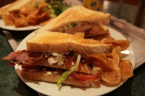 One popular theory is that the club sandwich was invented in an exclusive Santiago Springs, NY, gambling club in the late 19th century.