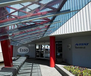 InterDel Esso Avitat location at YVR's southside is now a Signature Support FBO.