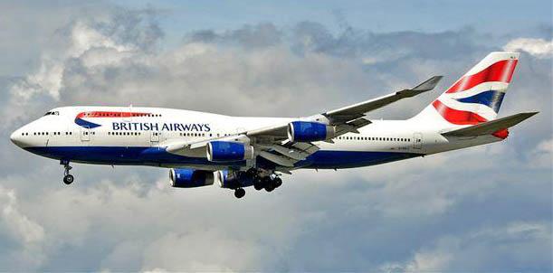 British Airways Boeing 747-400. Photo: Jim Jorgenson