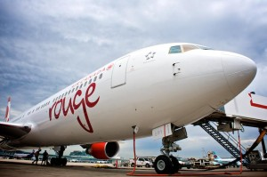 The name of Air Canada's leisure airline, Air Canada rouge, was announced in 2012, following a contest launched on Face book invitiing customers, employees and travel industry professionals for their input.