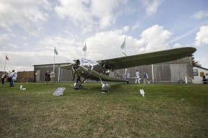 Cessna 195 Businessliner winner of 2014 Freddie March Spirit of Aviation Exhibition at 2014 Goodwood Revival.