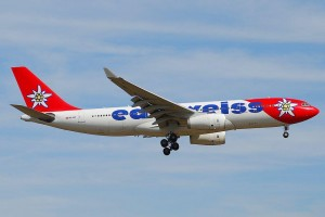 Edelweiss Airbus A330-200.
