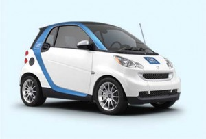 car2go, a wholly owned subsidiary of Daimler North America, offers Smart Fortwo vehicles, exclusively, and features one-way, point-to-point rentals.