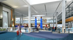 YVR's A-B Connector Project will feature brand new gates, amenities and retail offerings for its passengers.