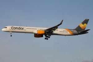 Condor Boeing 757-300.