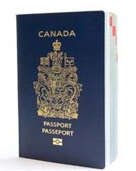 The Canadian passport includes graphics that are only visible under blacklight. This is both an aesthetic feature as well as a method of validating the authenicity of the passport.