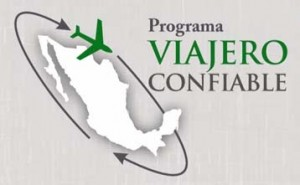 Viajero Confiable is a trusted traveller program operated by the Government of Mexico that provides expedited processing for pre-approved travellers at designated airports in Mexico via the use of automated kiosks.