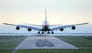 British Airways A380 at YVR. Photo: Dave H.