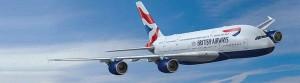 British Airways' A380.
