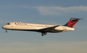 Delta's Boeing 717 is a twin-engine, single-aisle jet airliner, developed for the 100-seat market.