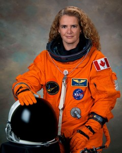 From 1992 to 2013, Canada's new Governor General, Her Excellency the Right Honourable Julie Payette C.C., C.M.M., C.O.M., C.Q., C.D., worked as an astronaut and flew two missions in space.