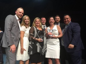 The YVR team received dual awards at the 2017 World Routes Conference in Barcelona, Spain.