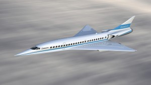The Boom supersonic aircraft is slated for entry into service in the mid-2020s. Photo: courtesy JAL Airlines.