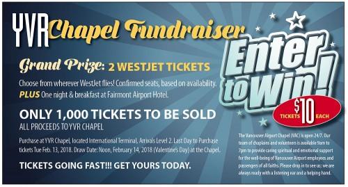 Chapel Fundraiser