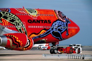"""Wunala Dreaming"" appeared on a Boeing 747-400 aircraft from 1994-2011."